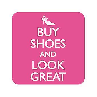 Koop schoenen en Look grote dranken Mat / Coaster