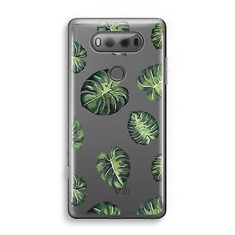 LG V20 gennemsigtig sag (Soft) - tropisk blade