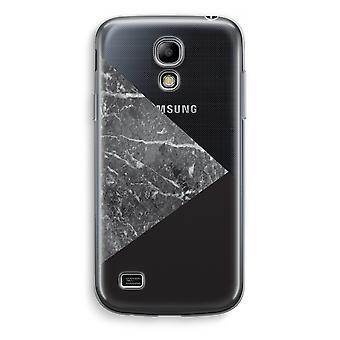 Samsung Galaxy S4 Mini Transparent Case (Soft) - Marble combination