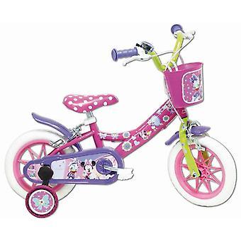 自転車の女の子 12inches ミニーマウス ディズニー
