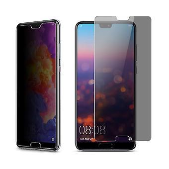 Huawei P20 par protection de vue blindé protection verre anti-spy film 9 H - 3 unités