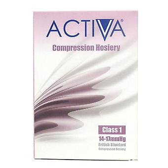 Activa Compression Tights Tights Cl1 Stock Thigh Sand 259-0305 Sml