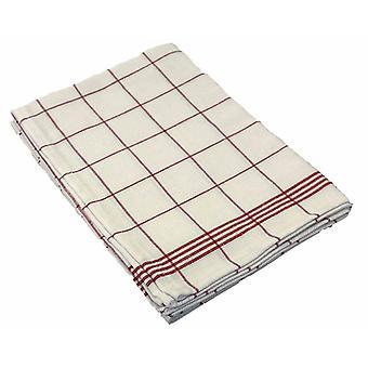Tea towels checked 50x70cm set a 3pcs
