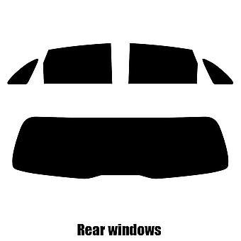 Pre cut window tint - Mercedes B-Class 5-door Hatchback - 2011 and newer - Rear windows