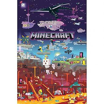 Minecraft Poster World Beyond 179