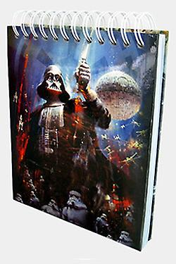 STAR WARS CHARACTERS MUSICAL NOTEBOOK B