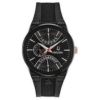 Bulova Grammy Edition Chronograph Rubber Strap 98B321 horloge