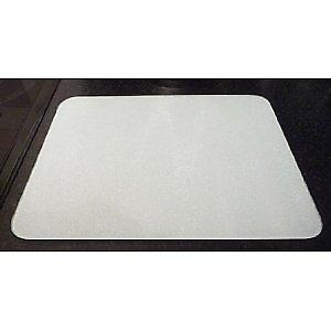 Premium Glass White Medium Kitchen Worktop Saver Protector