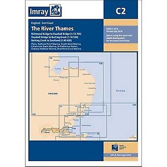 Imray Chart - The River Thames - Teddington to Southend (New edition)
