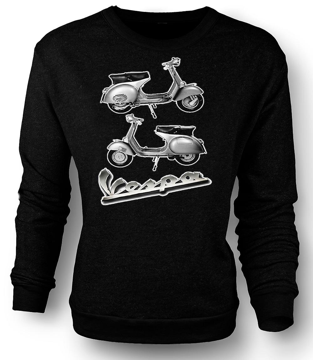 Mens Sweatshirt Vespa 150GS Scooter - Mod