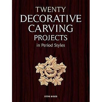 Vingt projets de sculpture décorative en période Styles par Steve Bisco-