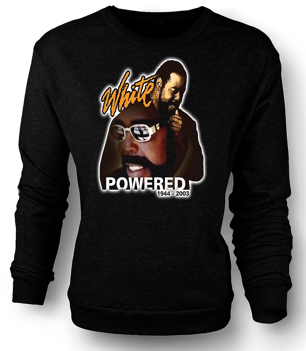 Mens Sweatshirt Barry White - alimentato