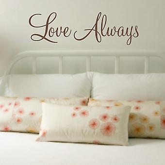 Love Always wall art sticker