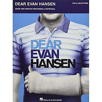 Sehr geehrte Evan Hansen: Vocal Auswahlen