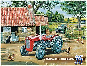 Massey Ferguson 35 metal sign  (og 4030)