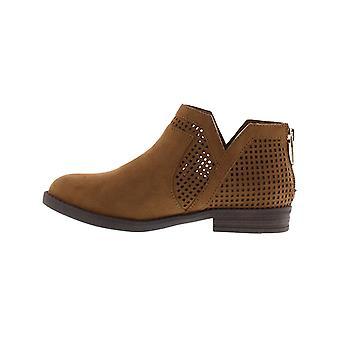 Kids Kenneth Cole Reaction Girls Wild Westy Ankle Zipper Western Boots