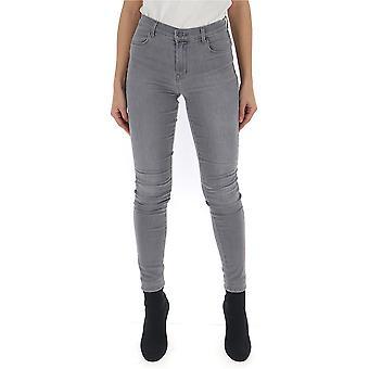 Graue Baumwolle Jeans von J Brand