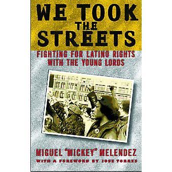 Vi tok gatene kjemper for Latino rettigheter med unge herrene av Melendez & Miguel