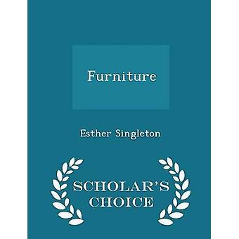 シングルトン ・ エスターによって家具学者チョイス版