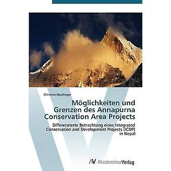 Moglichkeiten Und Grenzen Des Annapurna Conservation Area projekt av Heussinger Christine