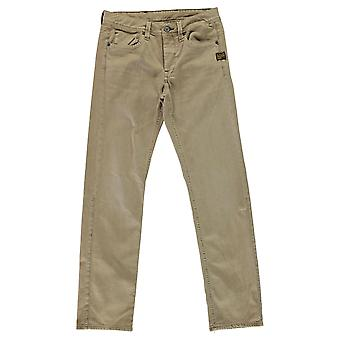 G Star Mens Raw Attacc Low Straight Coj Jeans Pants Trousers Bottoms Zip