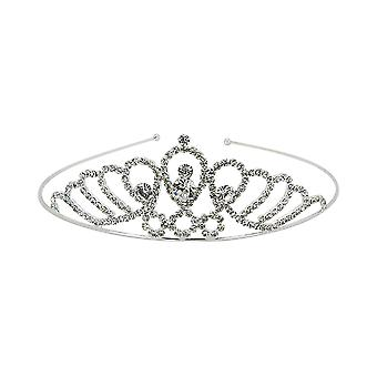 Silver Bridal Crystal Rhinestone Headband Tiara Wedding Crown Prom