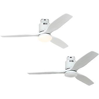 DC Ceiling Fan Aerodynamix Eco White Lacquer