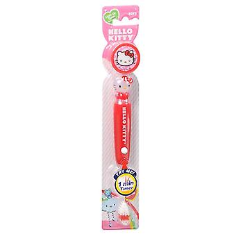 Firefly kids! hello kitty toothbrush with cap, 1 ea