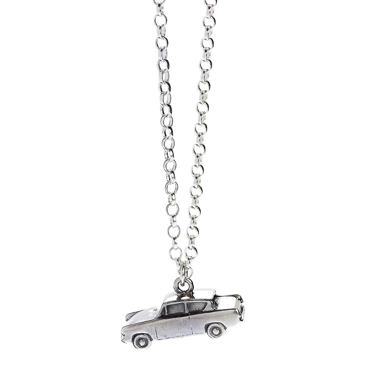 Harry Potter Sterling argent Ford Anglia en volant voiture Charm collier