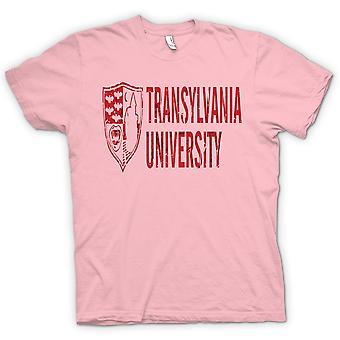 子供 t シャツ - トランシルバニア大学 - 面白いホラー