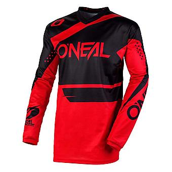 ONeal Black-Red 2020 Element Racewear MX Jersey