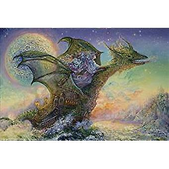 Poster - Dragon Ship - Wall Art P9535