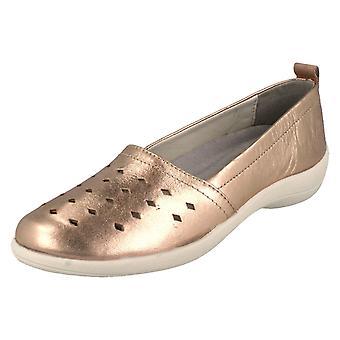 Ladies Padders Slip On Leather Shoes Rava