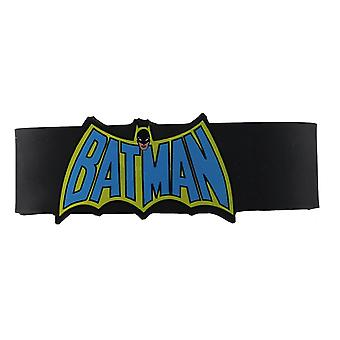 Wristband - DC Comics - Batman Cape Logo New Toys Gifts rwb-dc-0012