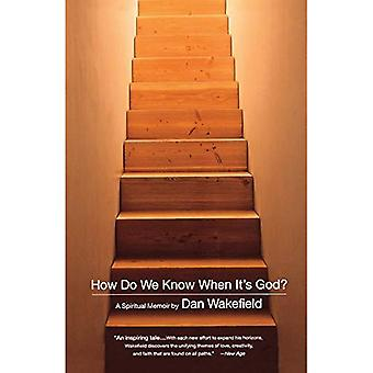 How Do We Know When It's God?: A Spirtual Memoir
