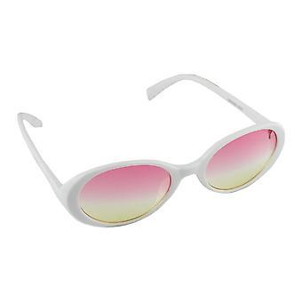 Sunglasses UV 400 oval white Pink 2637_52637_5