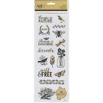 Momenta Stickers-Escape natuur 25562