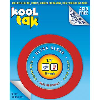 Kool Tak Ultra Clear Tape .25