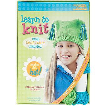 Learn To Knit Hat 46771