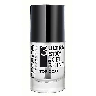 Catrice Cosmetics Ultra Catrice Stay & Shine Top Coat Gel