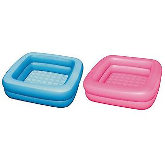 Kokido Children's inflatable pool 2 rings, quilted floor -3 years.