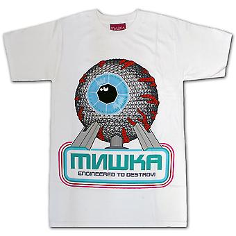 Mishka Spaceship Mishka White T-Shirt