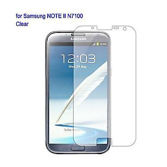 Screen protector for Samsung Galaxy, crystalline, Note 2