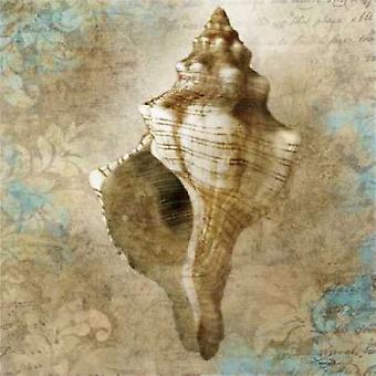 Wodnych Allure Poster Print przez Keith Mallett
