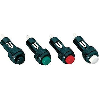 Pushbutton 24 V DC/AC 0.1 A 1 x Off/(On) RAFI MIN-DRUCKTASTER 1-POL. ROT momentary 1 pc(s)