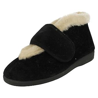 Ladies Sandpiper Bootee Style Slippers Viv