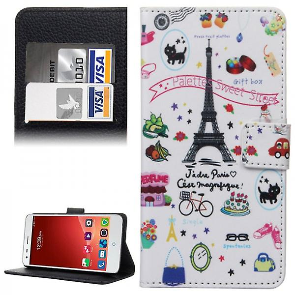 Pocket wallet premium model 41 for ZTE blade S6