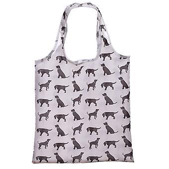 Puckator Dog Silhouette Foldable Bag