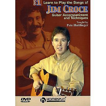 Lære at spille sange af Jim Croce - Lær at spille sange af Jim Croce [DVD] USA importen
