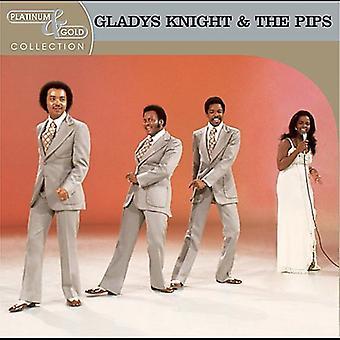 Gladys Knight & Pips - Platinum & guld samling [CD] USA importerer